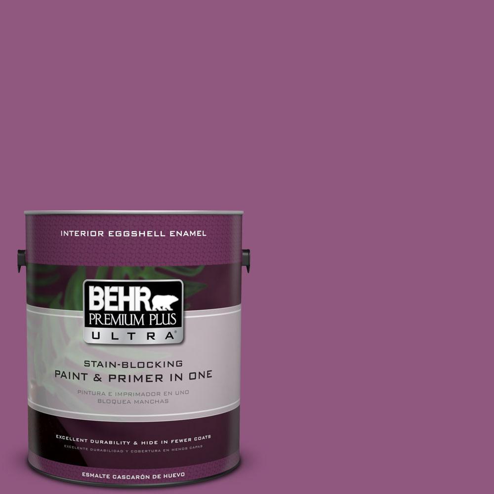 BEHR Premium Plus Ultra 1-Gal. #PPU1-18 Peru Eggshell Enamel Interior Paint