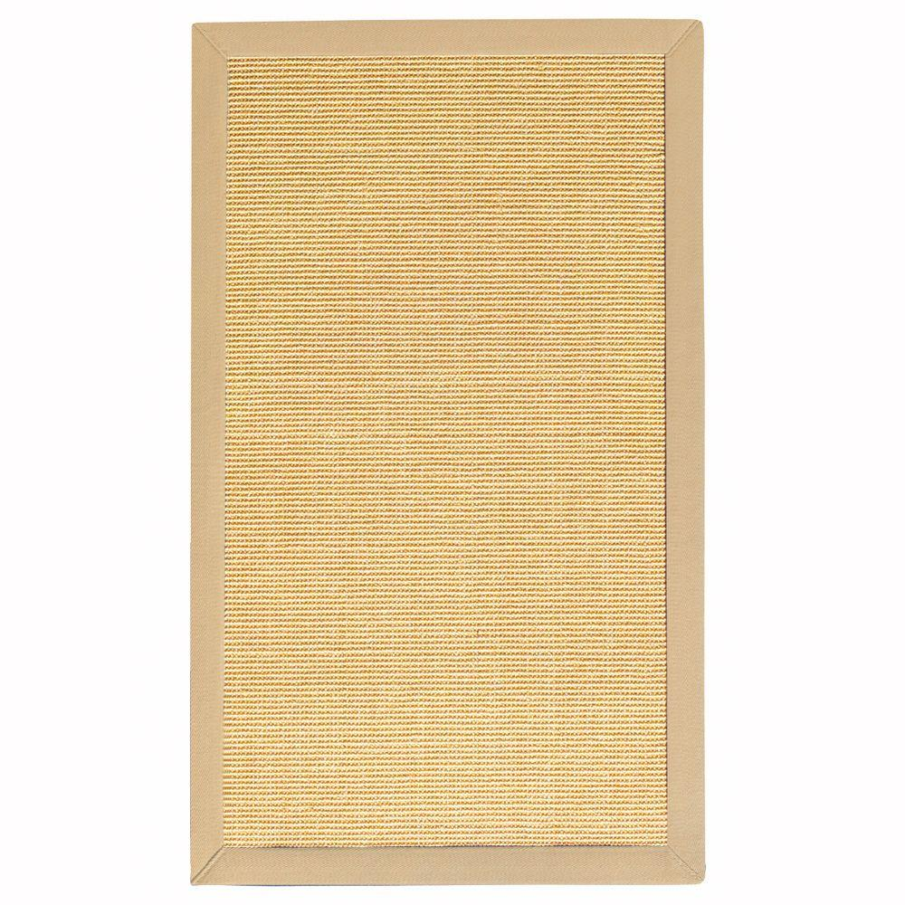 Home Decorators Collection Freeport Honey and Khaki 4 ft. x 6 ft. Area Rug