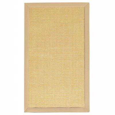 Freeport Honey and Khaki 4 ft. x 6 ft. Area Rug