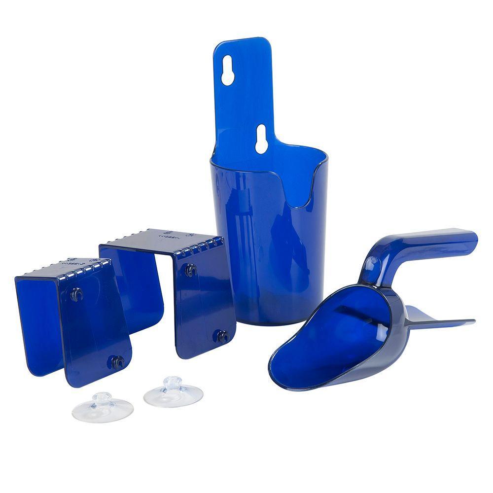 Secure Shield Scoops 6 oz. Blue Scoop Kit