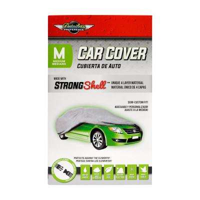 Strong Shell 170 in. L x 65 in. W x 47 in. H Car Cover - M