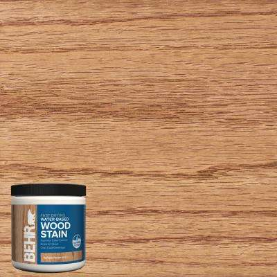 8 oz. TIS-522 Golden Pecan Transparent Water-Based Fast Drying Interior Wood Stain
