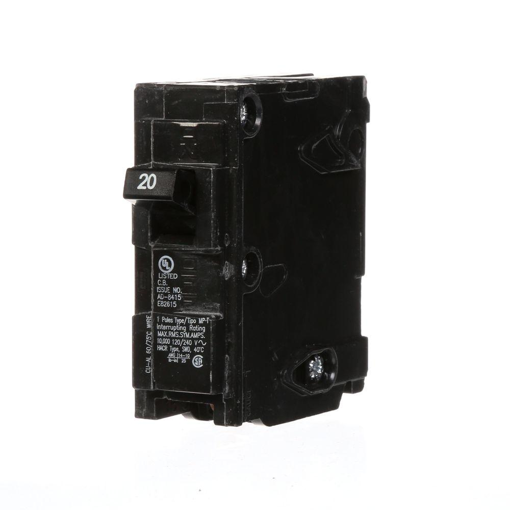 Murray 20 Amp Single-Pole Type MP-Circuit Breaker-MP120U - The Home ...