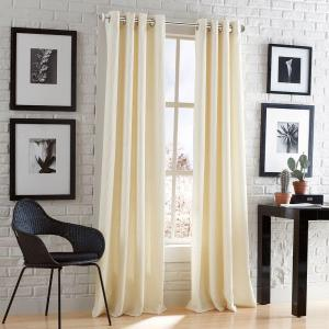 Peri Home Mercury Glass 66 inch - 120 inch Steel Telescoping 3/4 inch Curtain Rod Kit in... by Peri Home
