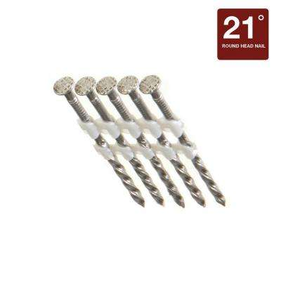 3-1/4 in. x 0.131 in. 21-Degree 304 Stainless Steel Spiral Shank Nails (1000-Pack)