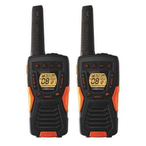 Cobra 37-Mile Range Rugged and Floating 2-Way Radio with Rewind by Cobra