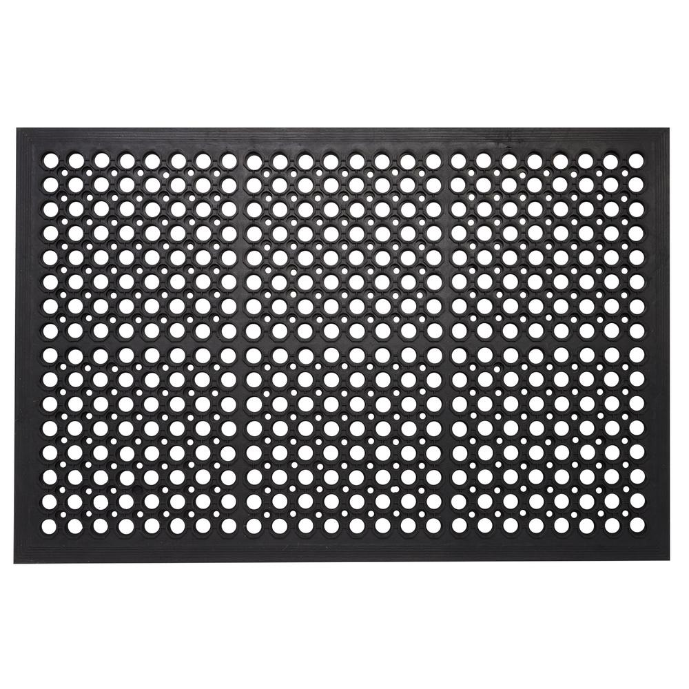 Rubber Floor Mat >> Envelor Commercial Rubber Mat Collection Durable Anti Fatigue 36 In