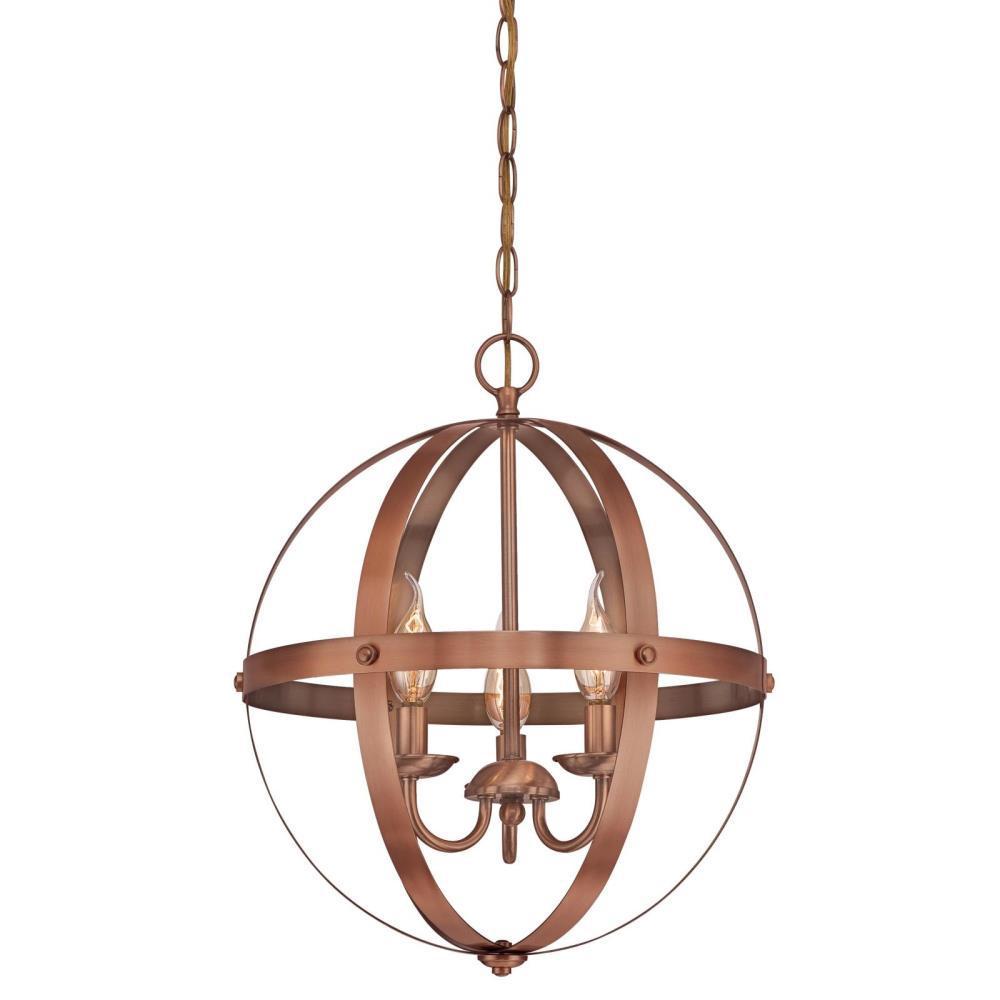 Westinghouse stella mira 3 light washed copper chandelier 6353500 westinghouse stella mira 3 light washed copper chandelier aloadofball Gallery
