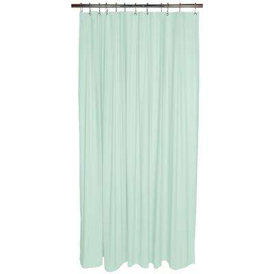 Heavy Grommet Shower Liner in Mint