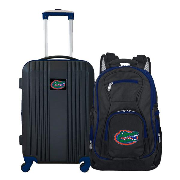 Navy NCAA Deluxe 2-Piece Backpack /& Carry-On Set
