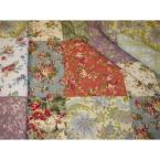 Greenland Home Fashions Blooming Prairie 3-Piece Multi Full and Queen Quilt Set