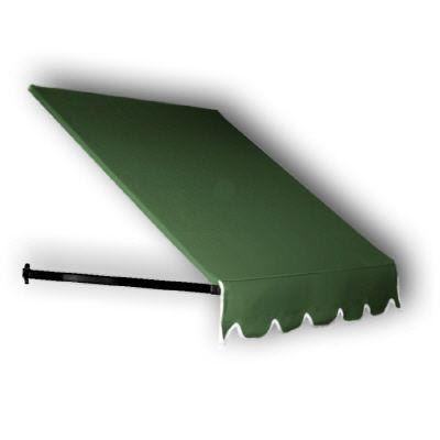 5 ft. Dallas Retro Awning for Low Eaves (18 in. H
