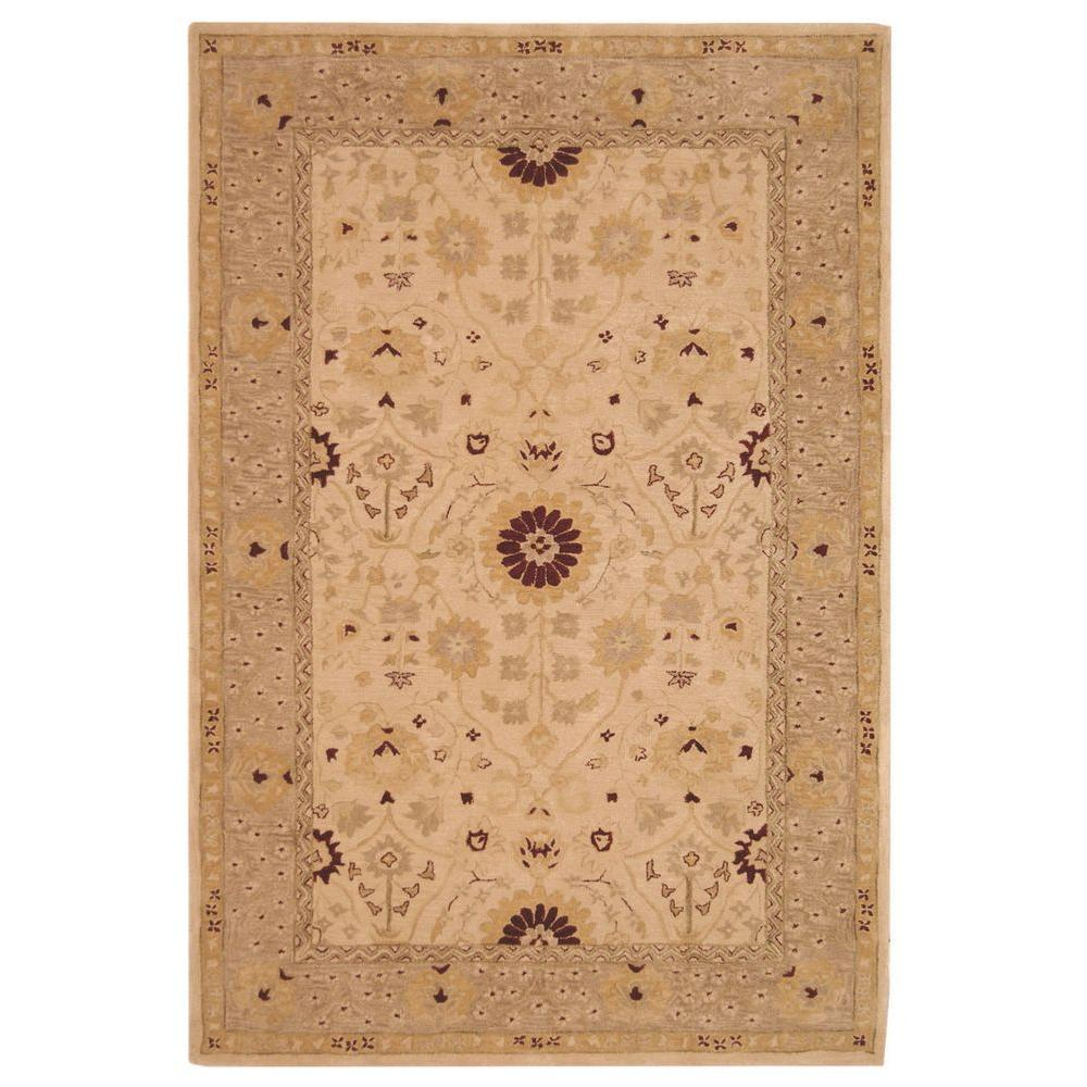 Safavieh Anatolia Sand/Walnut 9 ft. 6 in. x 13 ft. 6 in. Area Rug