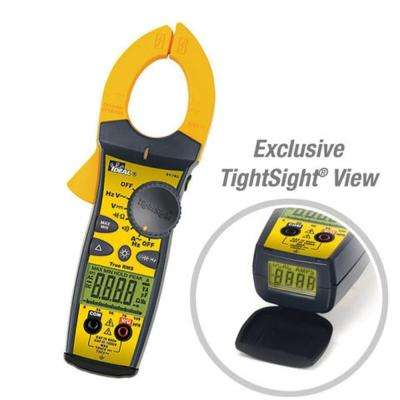 660 Amp AC Tight-Sight Clamp Meter with TRMS
