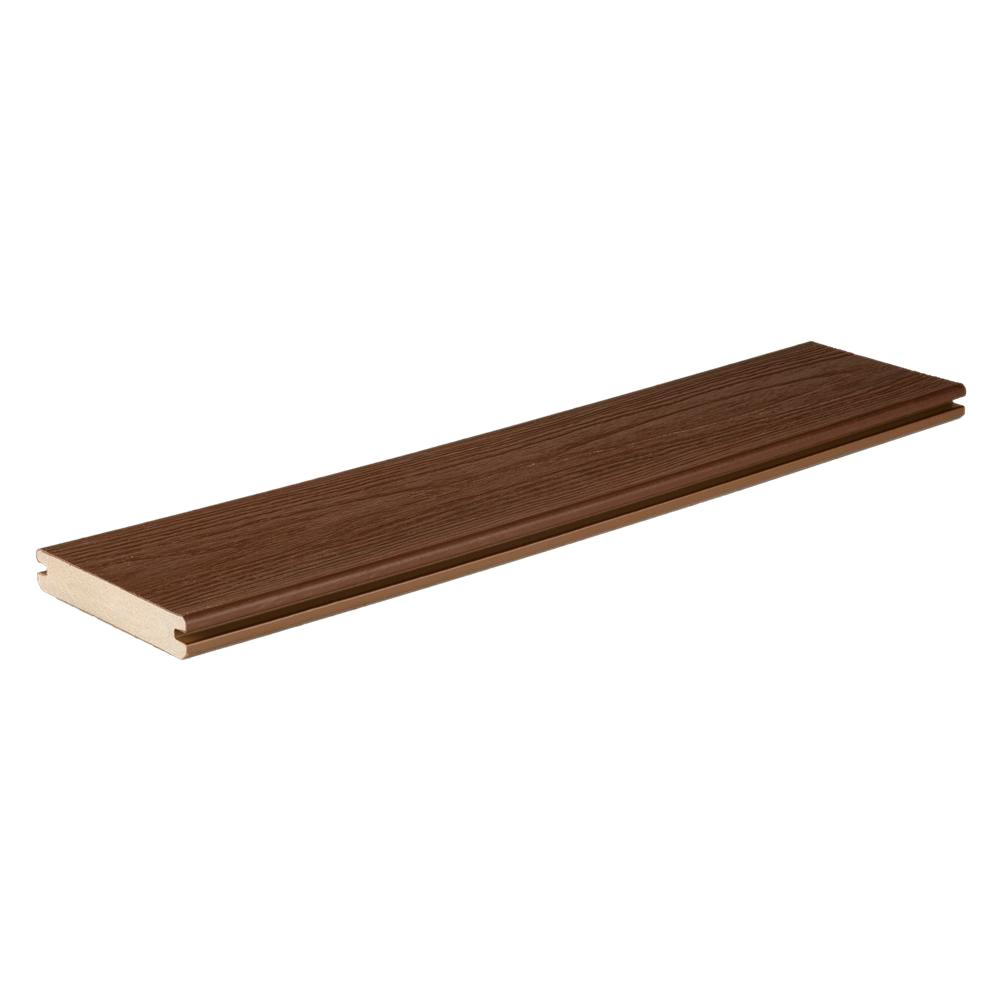 Timbertech tropical collection 47 50 in x 5 9 25 in x 20 for Composite deck boards reviews