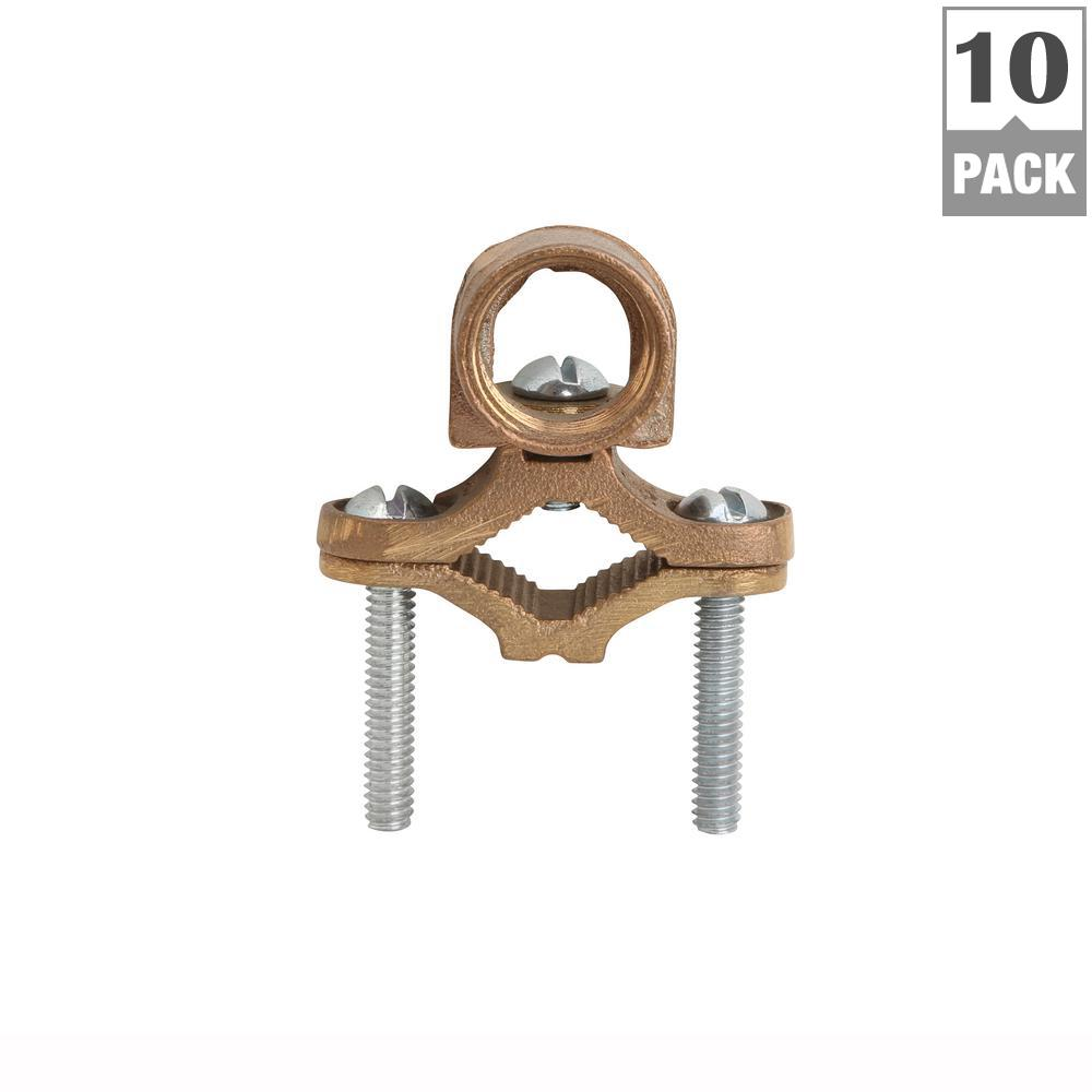 Tremendous Blackburn 1 2 1 In Type Jh Bronze Ground Rod Clamp For 8 To 4 Wiring Cloud Rectuggs Outletorg