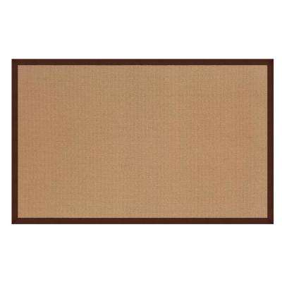 Athena Cork and Brown 3 ft. x 8 ft. Runner