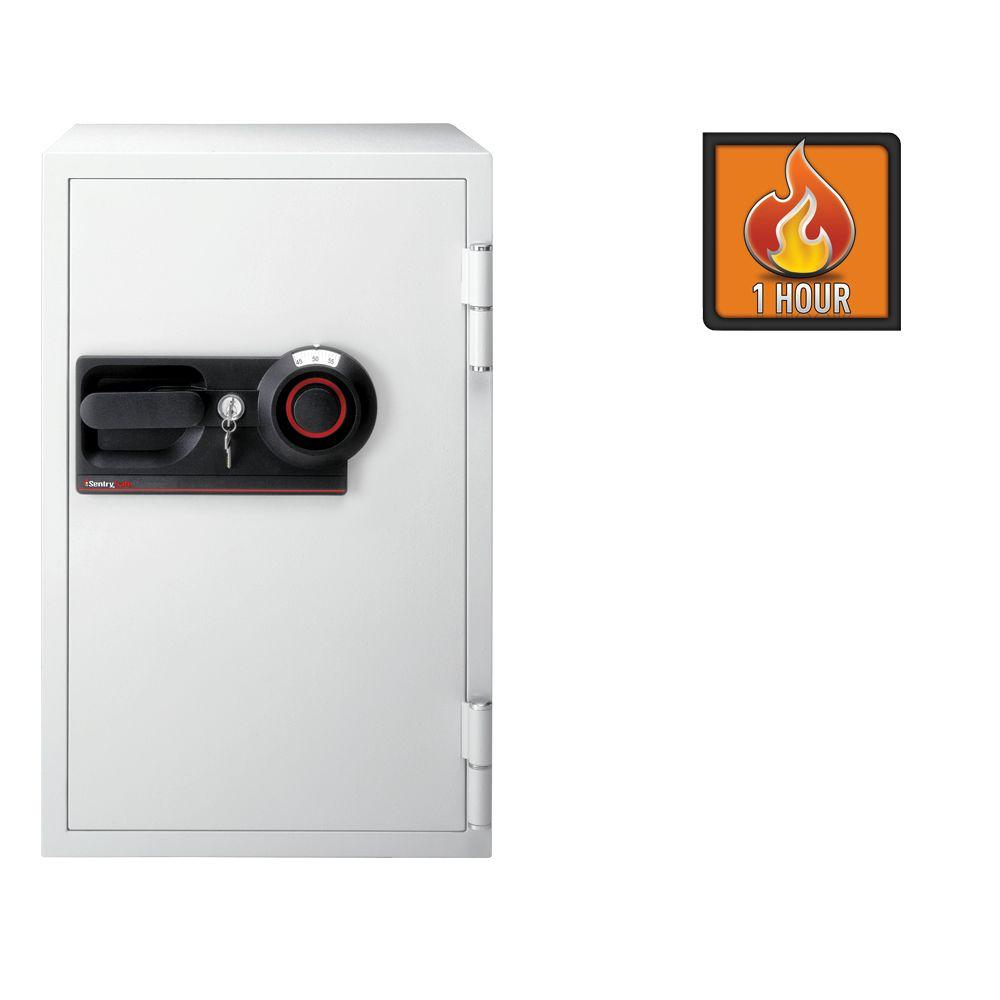 Sentry Commercial Safe 3 cu. ft. Fire-Safe Combination Lo...