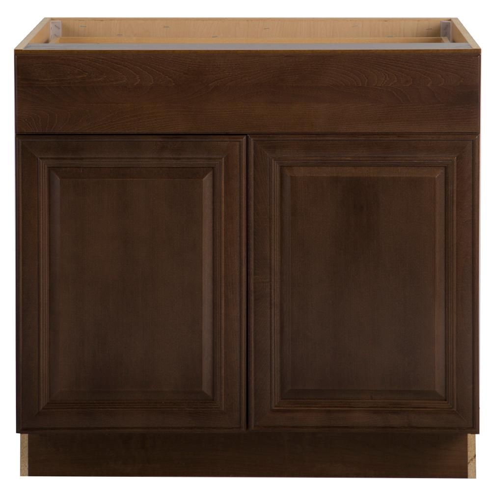 Ordinaire Benton Assembled 36 In. X 24.63 In. X 34.5 In. Sink Base Cabinet