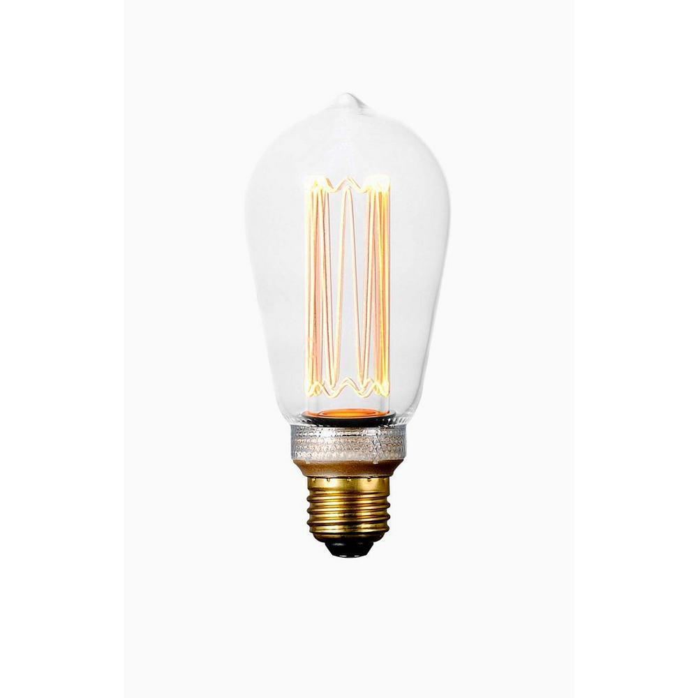 60-Watt Equivalent ST64 Dimmable LED Light Bulb (1-Bulb)