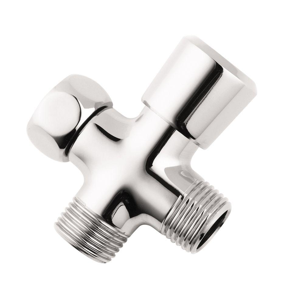 Hansgrohe Inversa Diverter in Chrome-28719003 - The Home Depot
