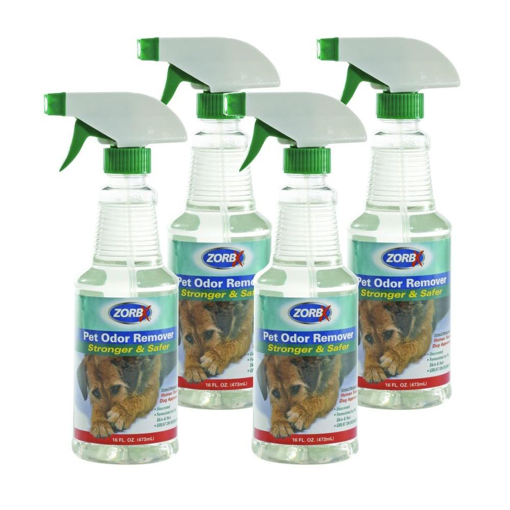 16 oz. Unscented Pet Odor Remover (4-Pack)
