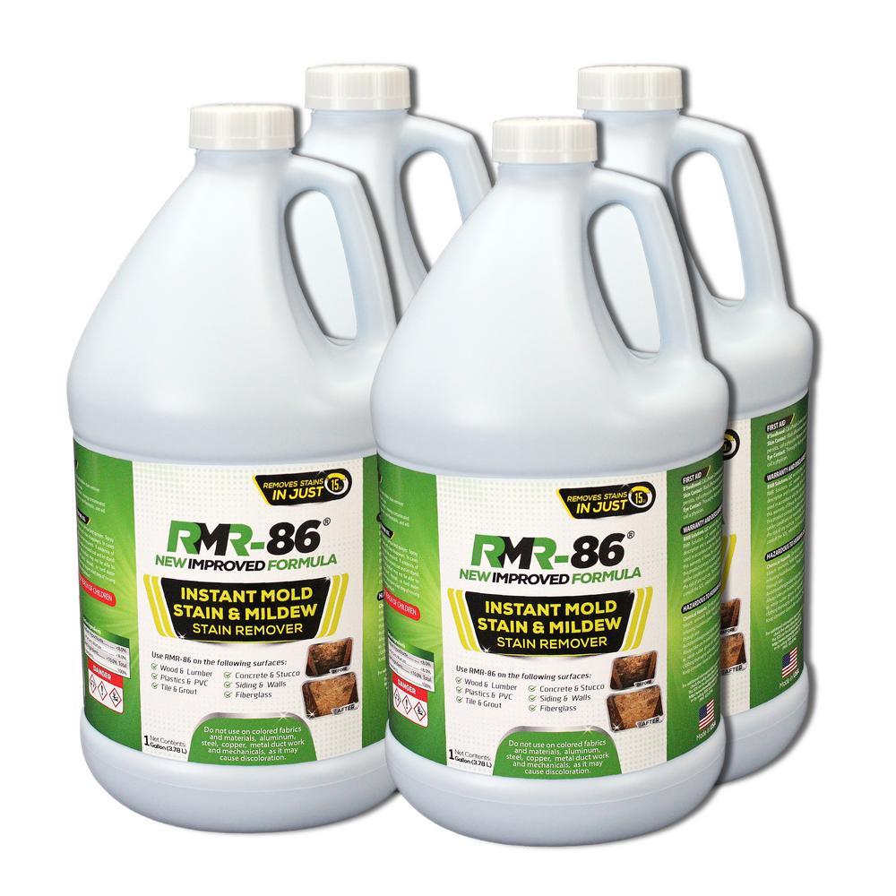 Instant Mold Stain Remover Home Garage Plastic Bottle Indoor Outdoor Liquid