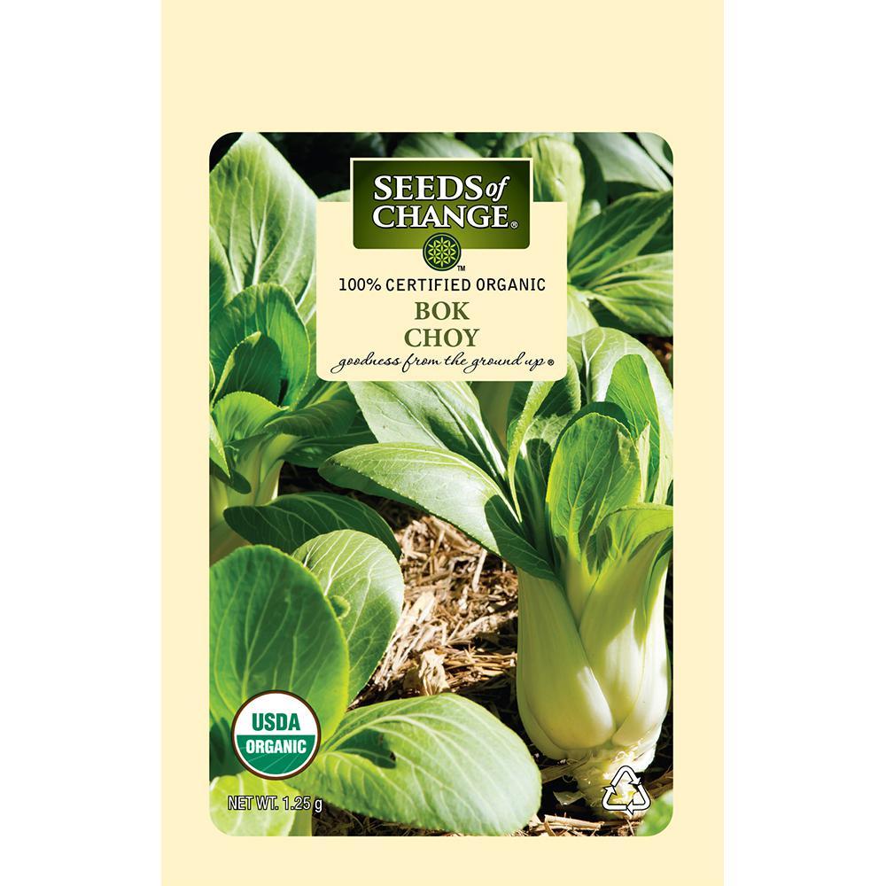 Bok Choy Organic Seeds