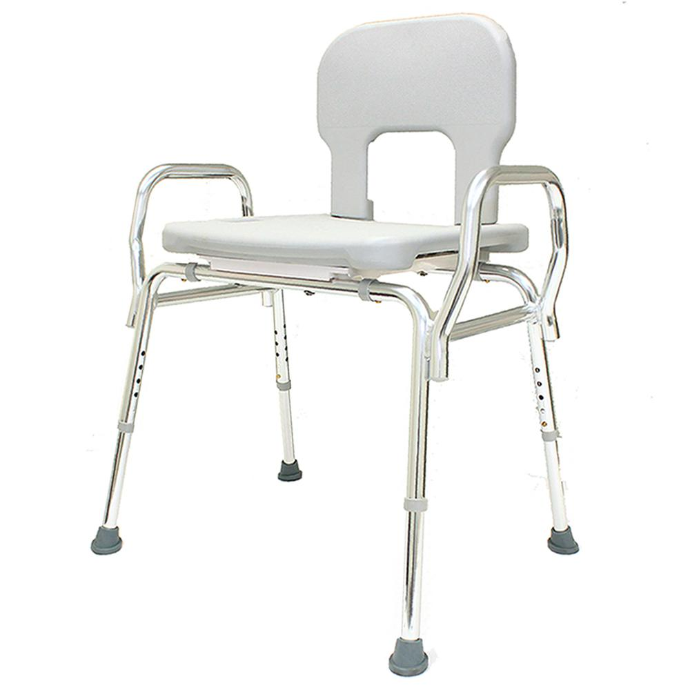 Bariatric Shower Chair - (Base Length: 27.5 in. to 28.25 in.) 500 lb ...