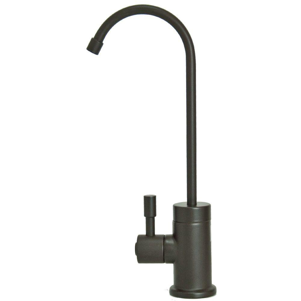 null Single-Handle Standard Kitchen Faucet in Oil Rubbed Bronze