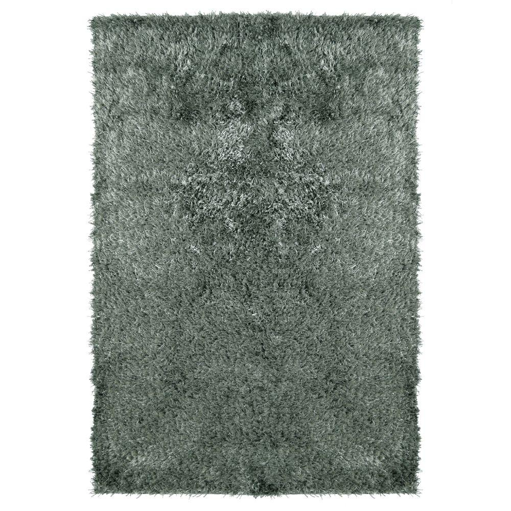 Home Decorators Collection City Sheen Stone Polyester 8 ft. x 10 ft. Area Rug