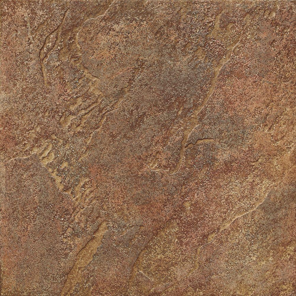 ELIANE Mt. Everest 18 in. x 18 in. Rosso Porcelain Floor and Wall Tile