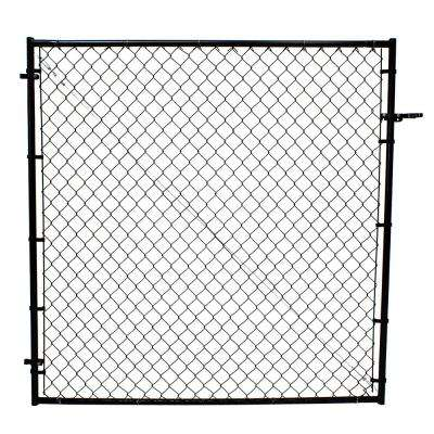 Black Chain Link Fencing Fencing The Home Depot