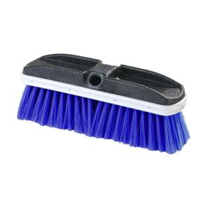 Carlisle 10 inch Flo-Thru Flagged Blue Nylex Truck Wash Brush (Case of 12) by Carlisle