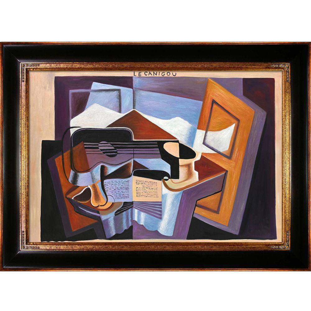 LA PASTICHE Le Canigou with Opulent Frameby Juan Gris Oil Painting, Multi-Colored was $1029.0 now $545.9 (47.0% off)