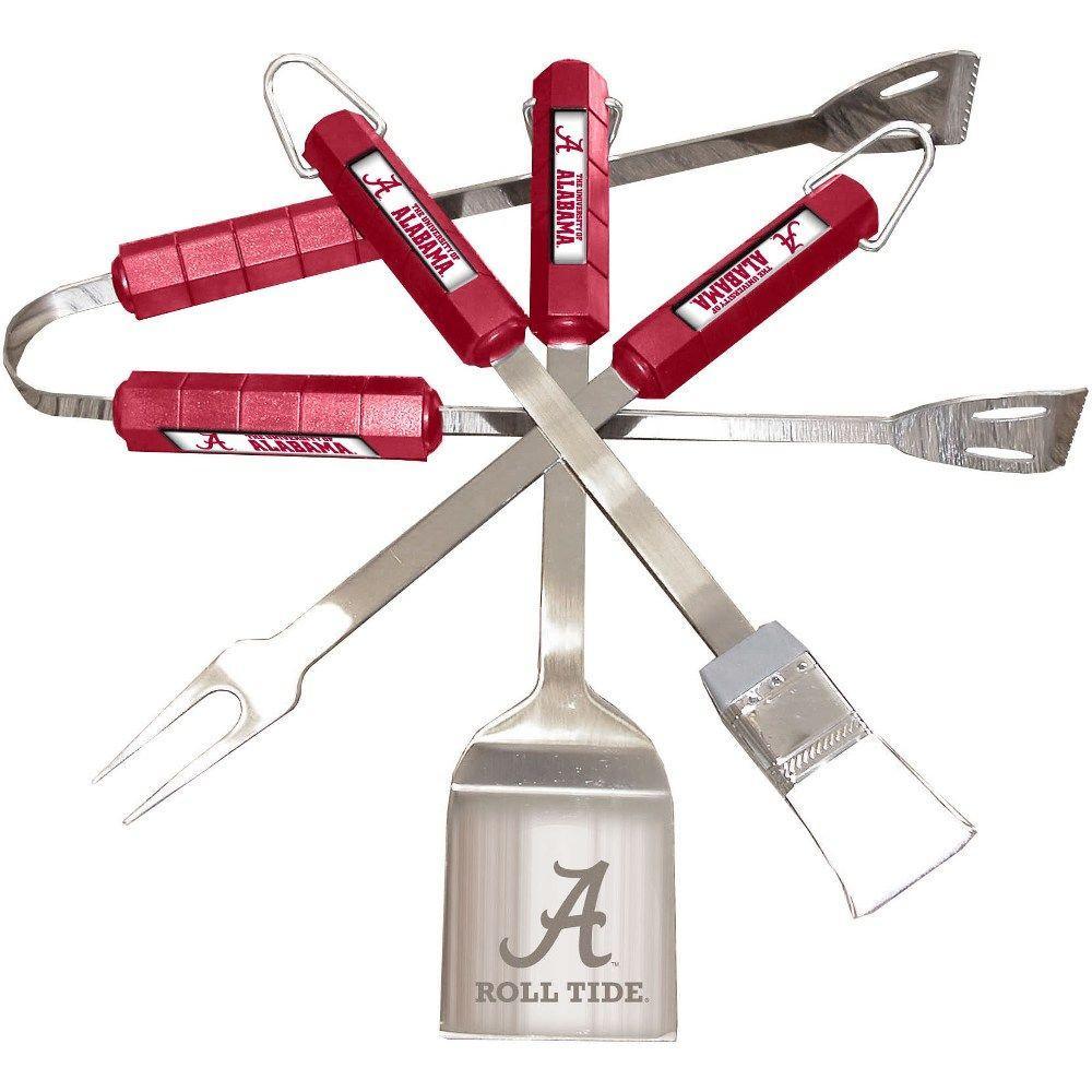 NCAA Alabama Crimson Tide 4-Piece Grill Tool Set