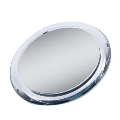 5X/1X Magnification Spot Makeup Mirror in Clear