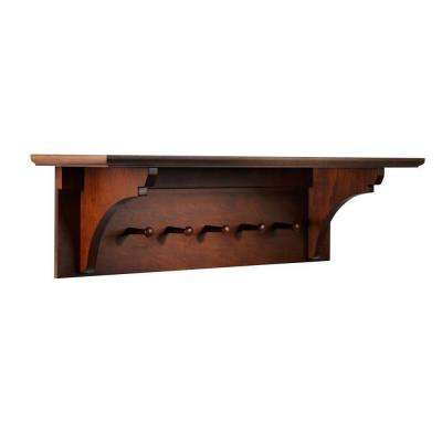 Solutions Sequoia Wall Mounted Coat Rack