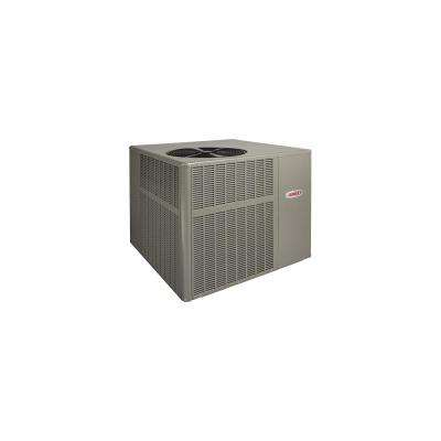Installed Packaged Heat Pump System