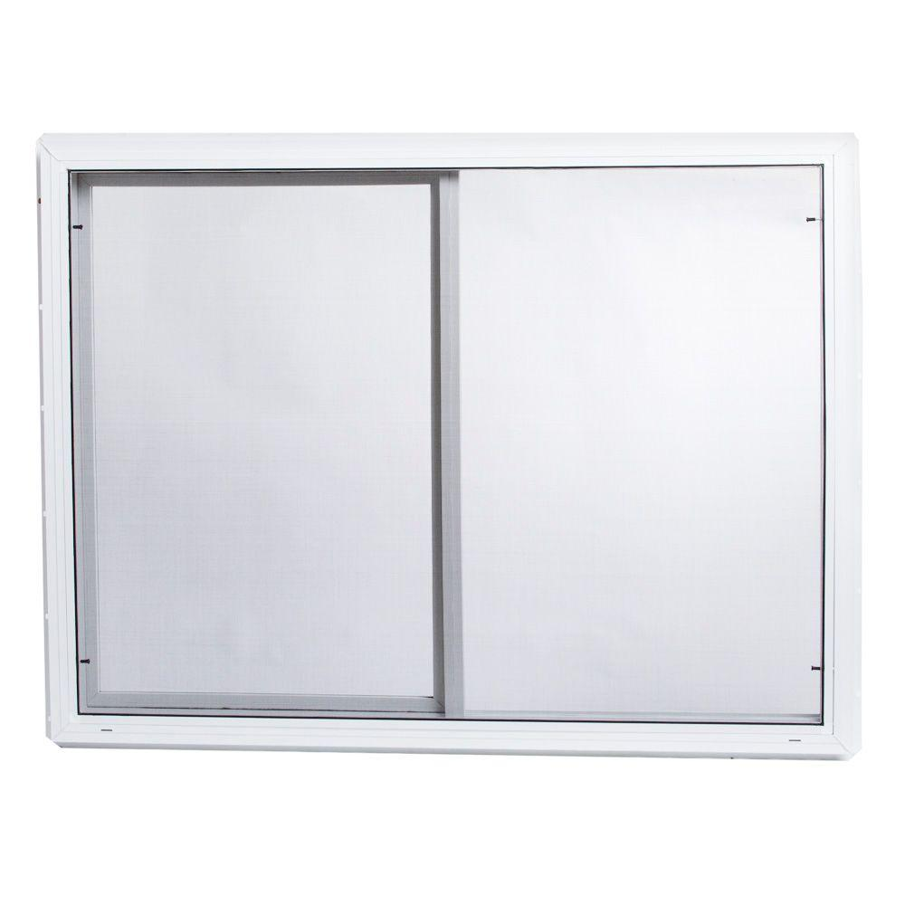 Vinyl Window Screen Insulated Single Sliding Glass Tafco