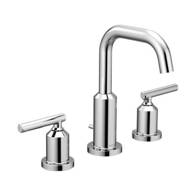 Gibson 8 in. Widespread 2-Handle High-Arc Bathroom Faucet in Chrome (Valve Not Included)