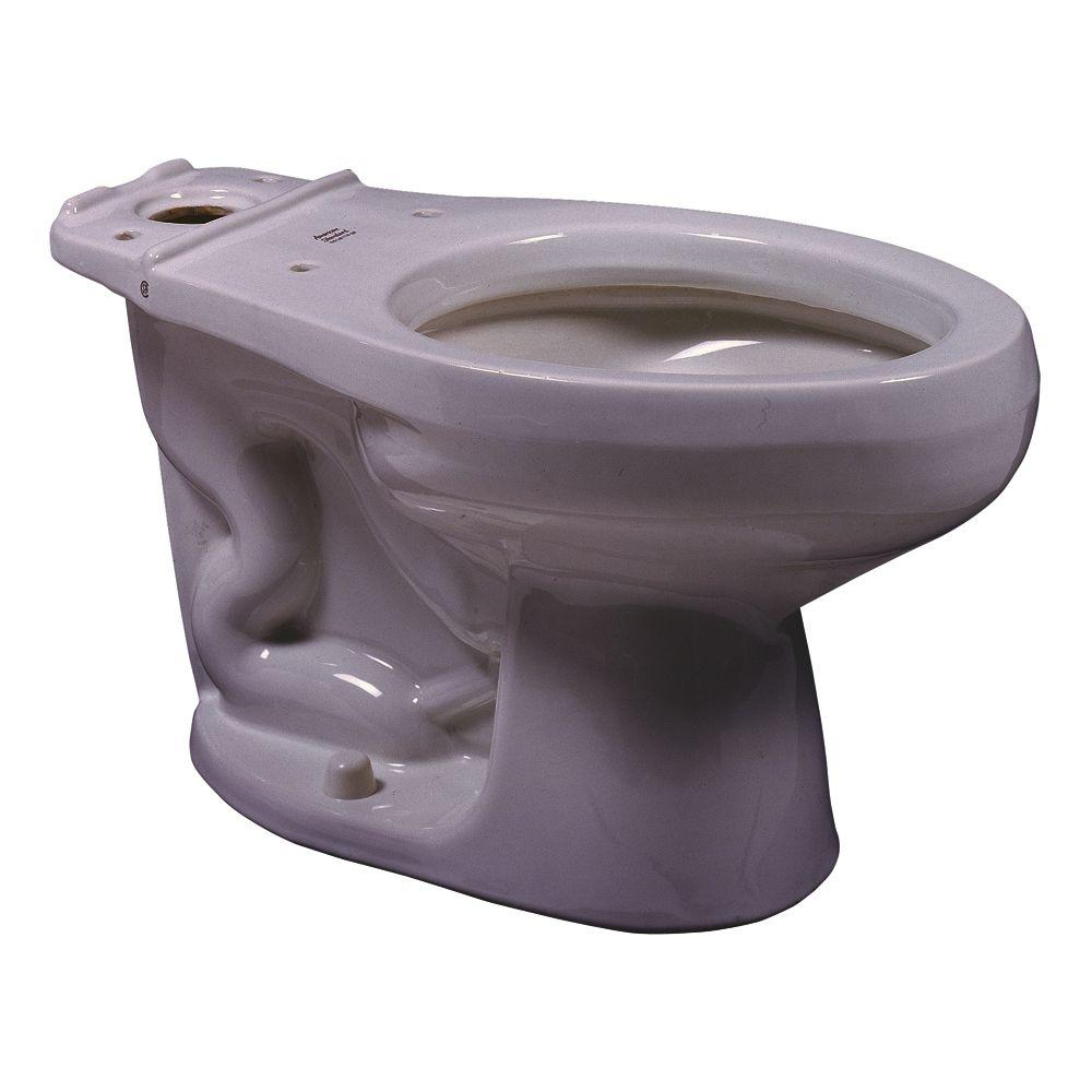 American Standard Cadet/Ravenna 1.6 GPF Elongated Toilet Bowl Only in Silver