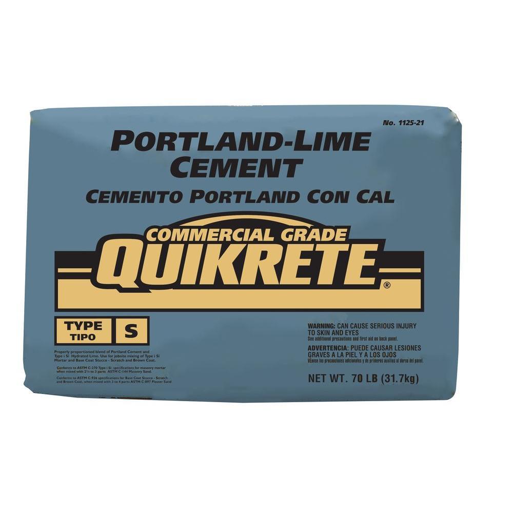 70 Lb Portland Lime Cement