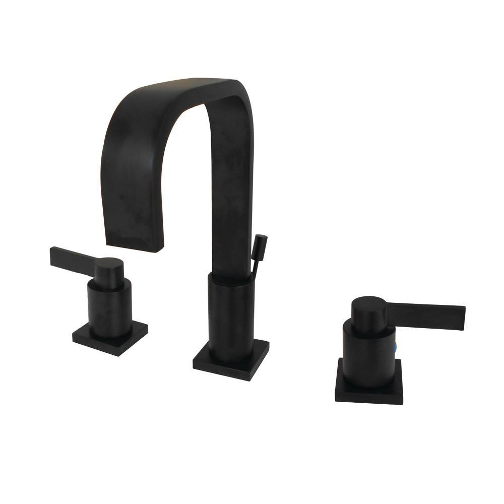 Kingston Brass Modern 8 In Widespread 2 Handle High Arc Bathroom