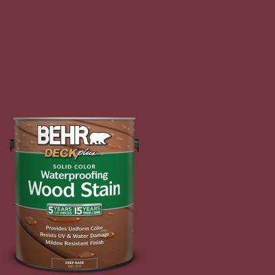 1 gal. #S130-7 Cherry Cola Solid Color Waterproofing Wood Stain