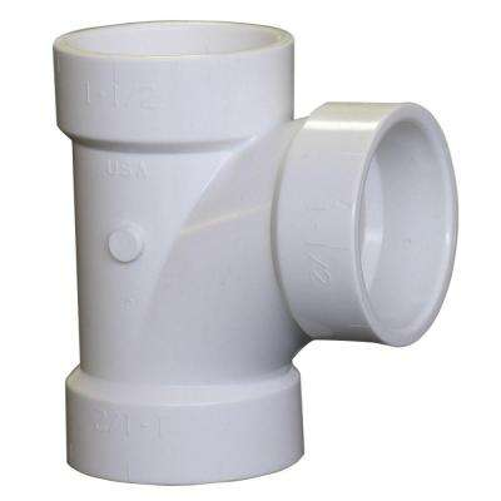 2 in. PVC DWV All-Hub Sanitary Tee