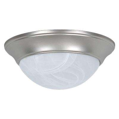 Monterey 2-Light Satin Nickel Flush Mount