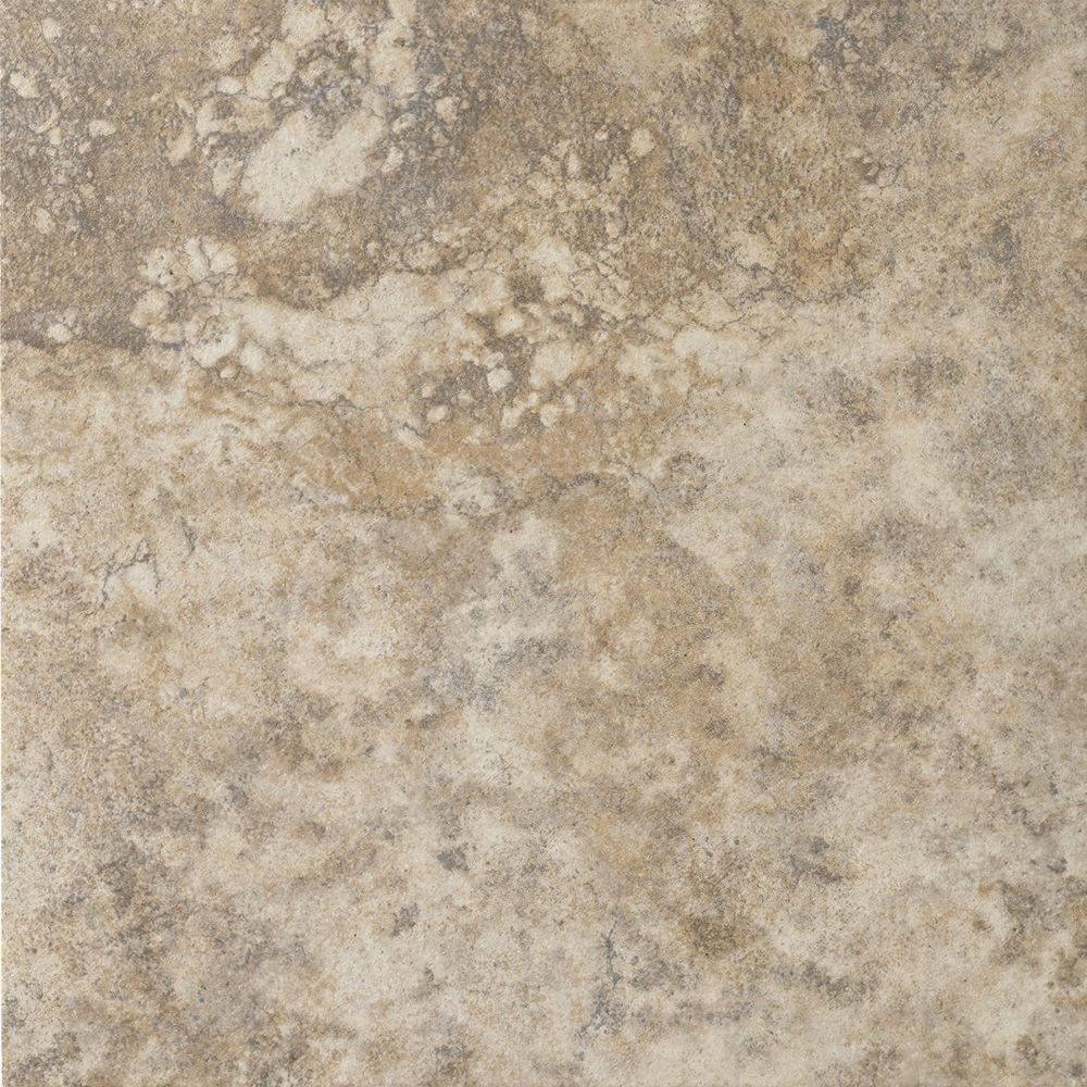 Tumbled Noce Stone Effect Travertine Wall Tile Pack Of 15: MARAZZI Campione 20 In. X 20 In. Sampras Porcelain Floor