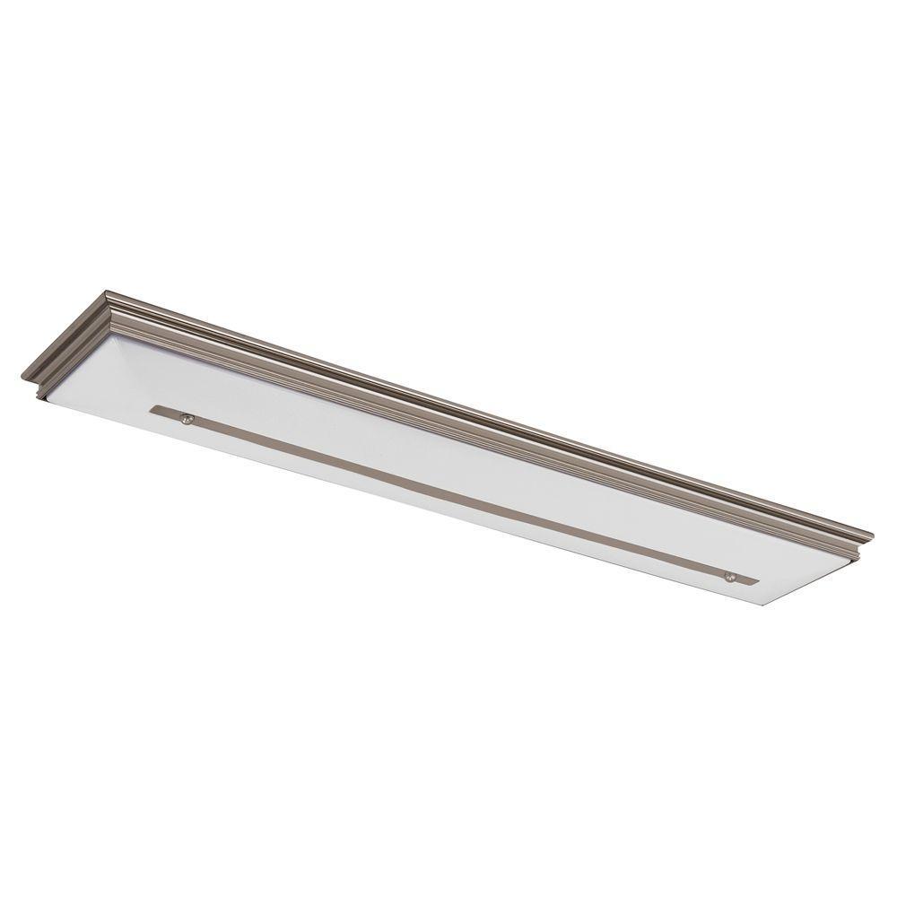 Fontane 2-Light White Ceiling Flushmount