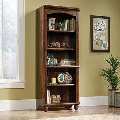 harbor view curado cherry 5shelf bookcase